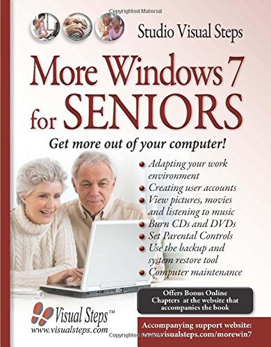 9789059053465: More Windows 7 for Seniors (Computer Books for Seniors series)