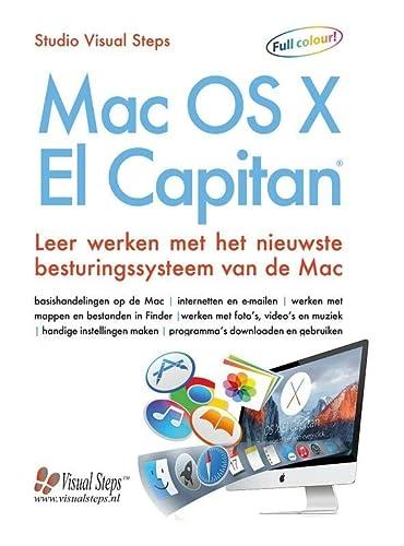 9789059055223: Mac OS X El Capitan: leer werken met het nieuwste besturingssysteem van de Mac