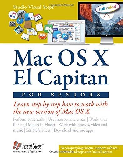 9789059057111: Mac OS X El Capitan for Seniors: Learn Step by Step How to Work with Mac OS X El Capitan (Computer Books for Seniors series)