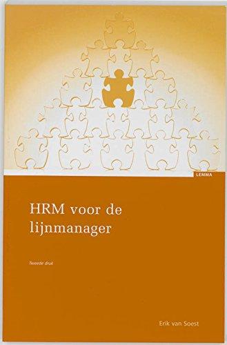 HRM voor de lijnmanager: Soest, E. van