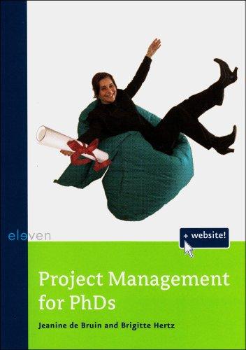 9789059316195: Project Management for PhDs