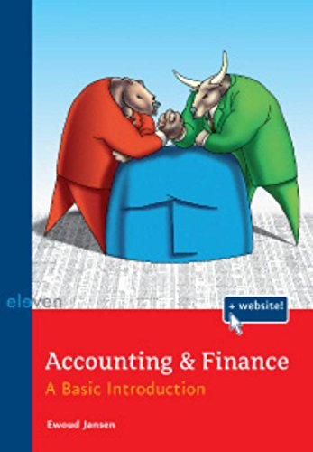 Accounting & Finance: A Basic Introduction: Jansen, Ewoud