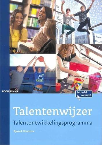 9789059317444: Talentenwijzer: talentontwikkelingsprogramma
