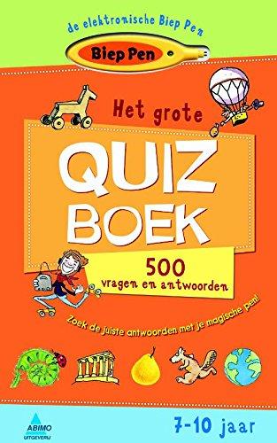 9789059324152: Het grote quiz boek: 500 vragen en antwoorden