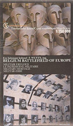 9789059349063: Belgien - Schlachtfeld Europas / Milit�rkarte vom Mittelalter bis zum 2. Weltkrieg  1 : 250 000 (Ign)