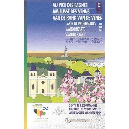 9789059349322: Toeristische kaart Au pied des Fagnes VTTOE.0039.PP.6