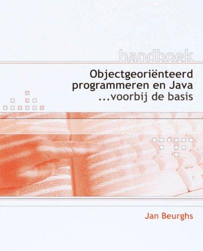 9789059403154: Handboek Objectgeoriënteerd programmeren en Java
