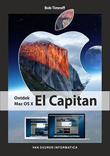 9789059408586: Ontdek Mac OS X El Capitan