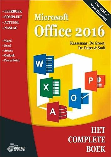 9789059408890: Microsoft Office 2016 (Het complete boek)