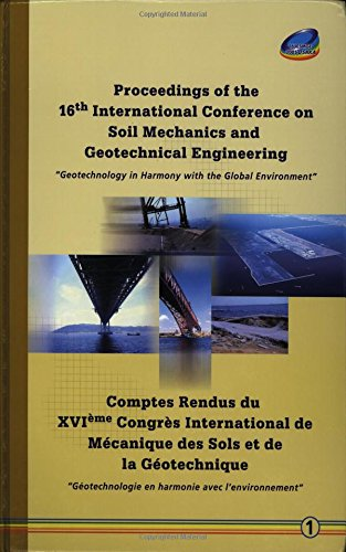 9789059660274: Proceedings of the 16th International Conference on Soil Mechanics and Geotechnical Engineering - The Sixteenth International Conference on Soil Mechanics ... Osaka, Japan, September 12-16, 2005