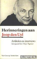 Herinneringen aan Joop den Uyl: Artikelen en