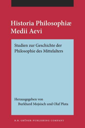 9789060320907: Historia Philosophiae Medii Aevi: Studien zur Geschichte der Philosophie des Mittelalters. Festschrift f�r Kurt Flasch zu seinem 60. Geburtstag. 2 B�nder
