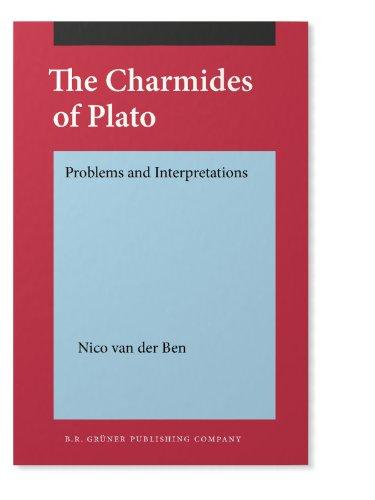9789060322741: The Charmides of Plato: Problems and Interpretations