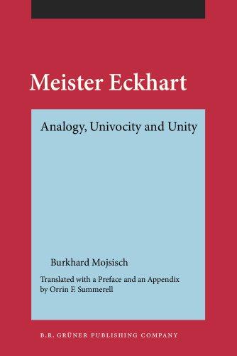 9789060324653: Meister Eckhart: Analogy, Univocity and Unity