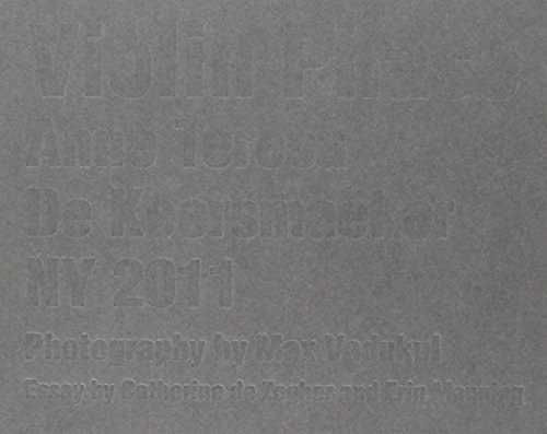 9789061533924: Violin Phase : Anne Teresa De Keersmaeker NY 2011