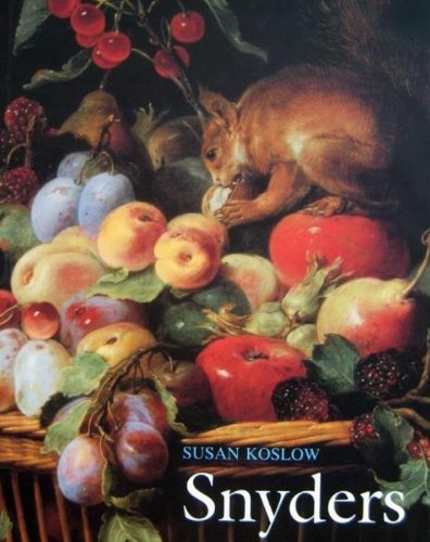9789061537090: Frans Snyders: the noble estate. seventeenth-century still-life and an seventeenth-Century Still-life and Animal Painting in the Southern Netherlands (Mercatorfonds)