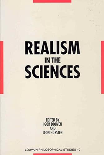 9789061867630: Realism in the Sciences: Proceedings of the Ernan McMullin Symposium, Leuven 1995 (Louvain Philosophical Studies)