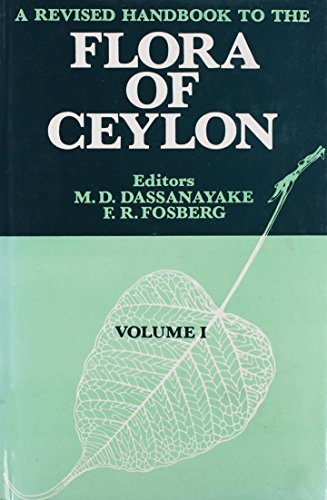 A Revised Handbook of the Flora of: Dassanayake, M. D.