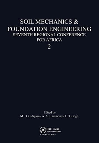 Soil Mechanics: Volume 2 (Hardback): M. D. Gidigasu