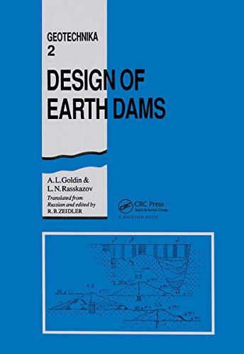 9789061911739: Design of Earth Dams (Geotechnika)