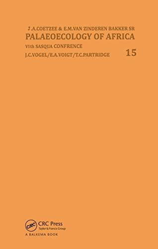 9789061912576: Palaeoecology Africa V15