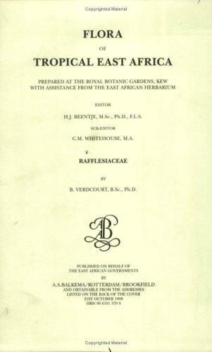 9789061913795: Flora of Tropical East Africa - Rafflesiaceae (1998)