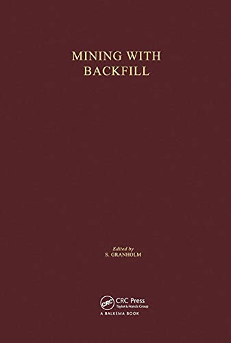 9789061915096: Mining with Backfill