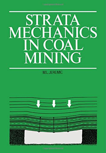 Strata Mechanics in Coal Mining: Jeremic, M.