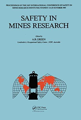 9789061916109: Safety in Mines Rsch-21st Intl Conf