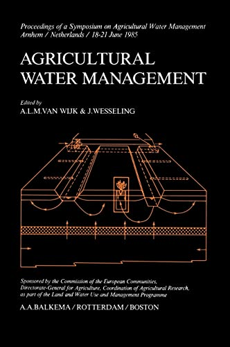 9789061916390: Agricultural Water Management