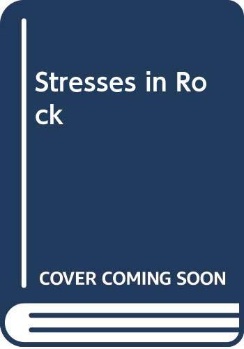 9789061916857: Stresses in Rock