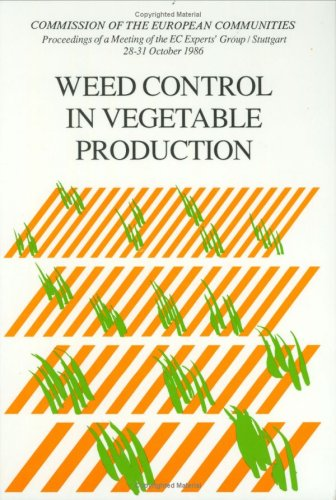 9789061918455: Weed Control in Vegetable Production