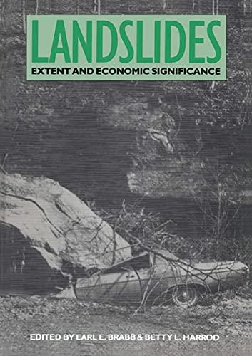 Landslides Extent & Econ Significance: Editor-E.E. Brabb; Editor-B.L.