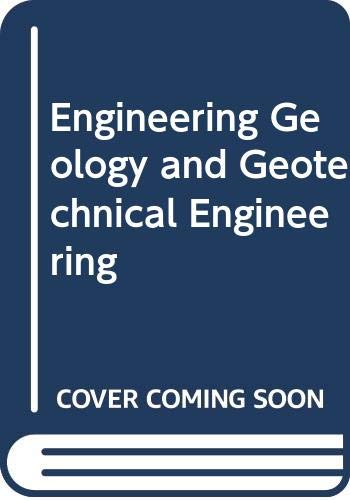 9789061918783: Engineer Geology & Geotechnical Engin