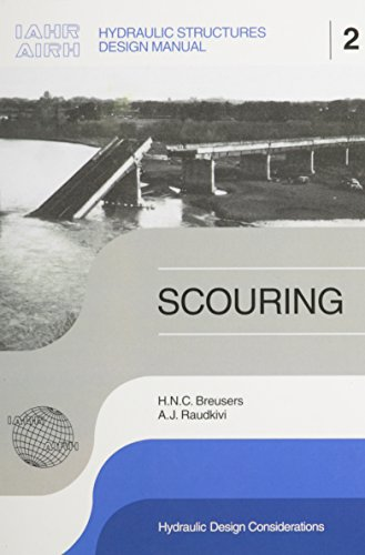 9789061919834: Scouring: Hydraulic Structures Design Manual Series, Vol. 2 (IAHR Design Manual)