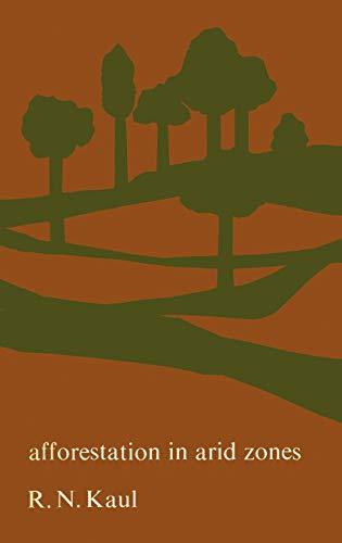 9789061930723: Afforestation in Arid Zones (Monographiae Biologicae)