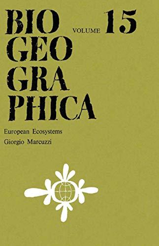 European Ecosystems (Biogeographica): Marcuzzi, G.