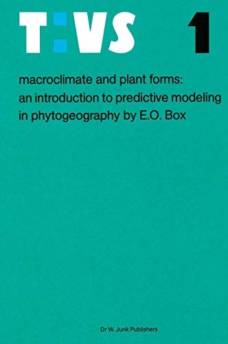 Macroclimate and Plant Forms: An Introduction to Predictive Modeling in Phytogeography (Tasks for ...