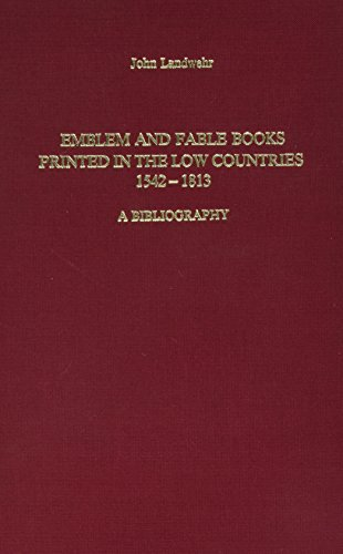 9789061941774: Emblem and Fable Books Printed in the Low Countries, 1542-1813