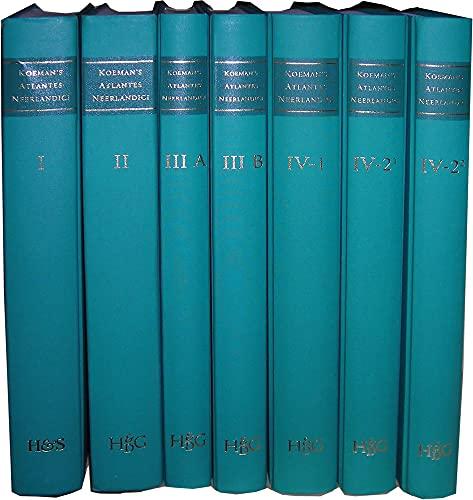 9789061942481: Koeman's Atlantes Neerlandici. New Edition (9 Vols.)