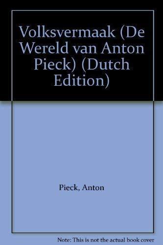 Volksvermaak (De Wereld van Anton Pieck) (Dutch: Pieck, Anton