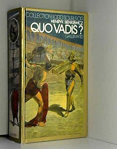 9789062130689: Quo vadis ? (Collection 1000 soleils or)
