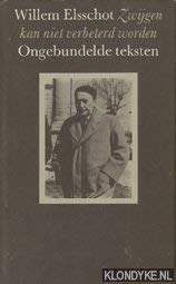 Zwijgen kan niet verbeterd worden: Ongebundelde teksten (Dutch Edition) (9062130828) by Willem Elsschot