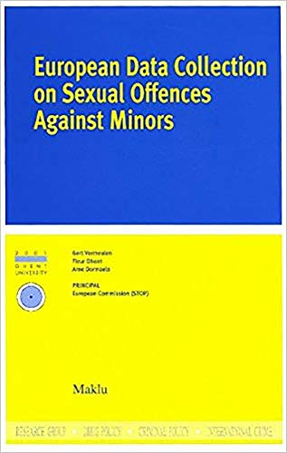 9789062157860: European Data Collection on Sexual Offences against Minors (Institute for International Research on Criminal Policy (IRCP))