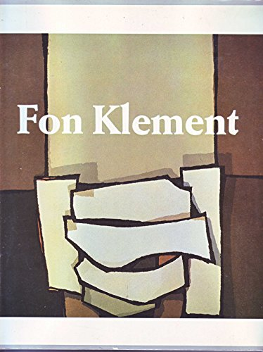 Fon Klement: Monnikendam, Joep; Hans Woestenburg; Dirk De Herder (Editors)