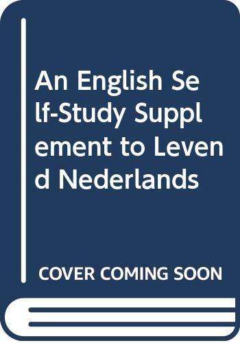 An English Self-Study Supplement to Levend Nederlands: Huizinga, M.; Hulstijn,