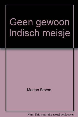 9789062651320: Geen gewoon Indisch meisje (Dutch Edition)
