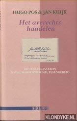 HET AVERECHTS HANDELEN - De Geer in: POS, HUGO &