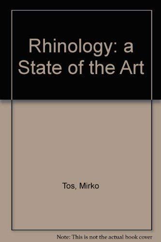 Rhinology: A State of the Art : European Rhinologic Society