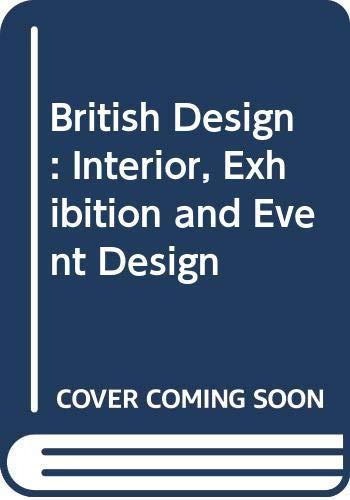 9789063690298: British Design 2003: Interior, Exhibition and Event Design